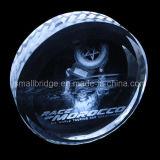 Medalla cristalina 3D