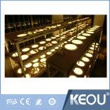 30x30см Круглой площади Тонкая светодиодная панель с утопленной лампа 24 Вт цвет .