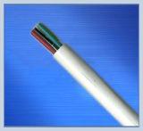 Fio elétrico flexível do PVC/fio do edifício