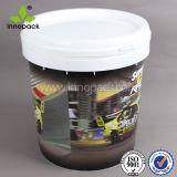 15Lペンキ、コーティング、Limstoneの化学薬品のためのプラスチック潤滑油のペンキのバケツ
