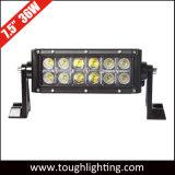 7 pouces étanches IP67 36W à double rangée, droite CREE LED Barres d'éclairage