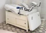 Elektrischer Salongynecology-Prüfungs-Couch-Stuhl mit Schrank-und Fuss-Support