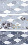 Minqing 12 ' x24 Baumaterial-hölzerne formenbadezimmer-keramische Wand-Fliese