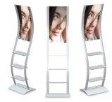 Алюминиево хлопните вверх стойка с плакатом и графиком