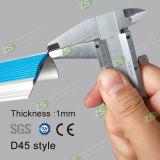 Sospecha de aluminio modificada para requisitos particulares de la escalera del modo