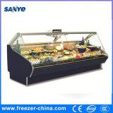Dispositivo di raffreddamento refrigerato della ghiottoneria del frigorifero della visualizzazione della carne