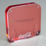 12mm transparente acrílico decorativo fundición de tipos de hojas para la venta