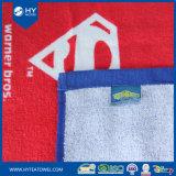 カスタムWashclothは100%年の綿のビーチタオルを印刷した