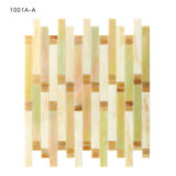 De gekleurde Unieke Tegels van het Mozaïek van het Gebrandschilderd glas van Backsplash van de Keuken Decoratieve