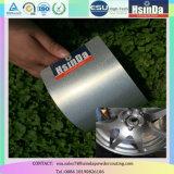 Ral9006 Hsinda Pegado de plata efecto metalizado recubrimiento de polvo