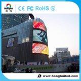 Im Freien farbenreicher Mietbildschirm LED-P6 mit videowand