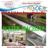 UPVC Ventanas de PVC línea de maquinaria de perfil