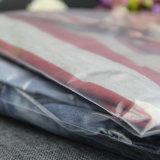 주문 크기와 로고 명확한 t-셔츠 패킹 부대 투명한 부대