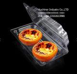 Коробка салата торта плодоовощ ясной упаковки волдыря Clamshell пластичная устранимая упаковывая