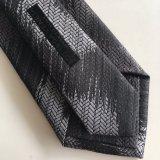Seta su ordinazione del poliestere del legame di marchio con la piccola cravatta di marchio di conclusione (L054)