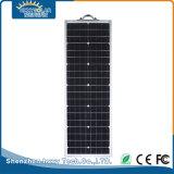 70W todo en una cubierta solar de la luz de calle del jardín del LED