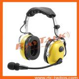 対面ラジオのためのブームマイクロフォンと頑丈なヘッドセットを取り消す騒音