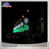 Handels-LED-im Freienweihnachtsmotiv-Straßen-Dekoration-Pole-Lichter
