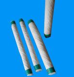 Corde tressée ronde de fibre en céramique