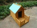 De houten Kooi van de Hond van de Kennel van de Hond van het Huis van de Hond (pcdh-D189)