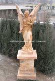 Естественная белая мраморный высекая скульптура (SK-2056)