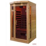 Cabine van de Sauna van de Sauna sek-Cp van de Goederen van de kwaliteit de Verre Infrarode solo