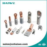 DIN Vier Handvat van de Kabel van de Schakelaar van het Koper van de Compressie van Gaten het Plooiende Tubulaire