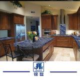 Barato sólido preto polido Natural/azul/branco bancadas de granito para cozinha doméstica