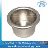 Vajilla de la taza de la taza del acero inoxidable, giro de metal del CNC de los electrodomésticos