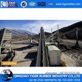 Transportador de cinta de goma para el carbón, cemento, de grano