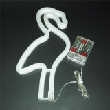 USB에 의하여 운영하는 벽 커튼 홍학 네온 밤 빛 램프