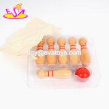 La meilleure vente badine le mini jeu en bois de bowling pour l'amusement W01A303