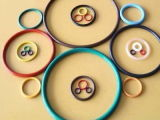 Joints circulaires de silicones/joint d'étanchéité approuvé par le FDA/tailles en caoutchouc de joint circulaire