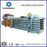 Prensa Semi automática da imprensa hidráulica para o recicl Waste HAS7-10 de HelloBaler