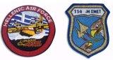 Patch broderie, de broderie d'un insigne, emblème de broderie