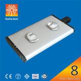 120W Luz Rua Solar com dissipador de calor Tecnologia PCI