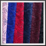 ポリエステル網の刺繍のレースの葉および花によって刺繍されるレースのテュルの刺繍のレース