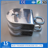 Bloco do giro do gêmeo do aço Ss304/Ss316 inoxidável