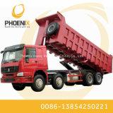 Goede Voorwaarde Gebruikte Vrachtwagen van de Stortplaats HOWO 12 de Hete Verkoop van de Kipper van Wielen