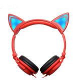Lumière LED filaire Cat casque en forme de l'oreille