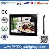 19'' écran numérique de la publicité des systèmes de montage mural avec écran LCD HD