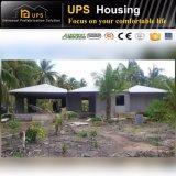 Excellente villa ignifuge de structure métallique de résistance de vent