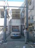 Подъем стоянкы автомобилей автомобиля столба уровня 4 вертикали 2