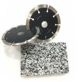 6''/150 mm de granit la lame de coupe humide de Turbo
