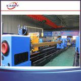 Máquina de estaca da seção da caixa da tubulação do plasma do CNC/cortador quadrado da flama câmara de ar da tubulação