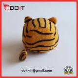 Juguete chillón lindo del perro de juguete del animal doméstico del tigre de la felpa