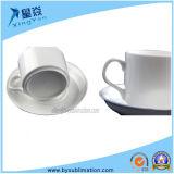 La tazza di caffè bianco all'ingrosso della fabbrica imposta la tazza di caffè di ceramica