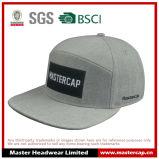 Chapéu alternativo do Snapback do painel com bordado de Applique