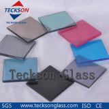 vidro de flutuador laminado cinzento escuro de 6.38mm com CE&ISO9001