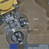 L'api 509 Pneumatic&Gas Wafer&Lug&Semi-Tira la valvola a farfalla dell'acciaio inossidabile CF8/Ss304